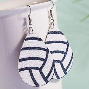 5/$20 Mix & Match Volleyball Dangle Earrings